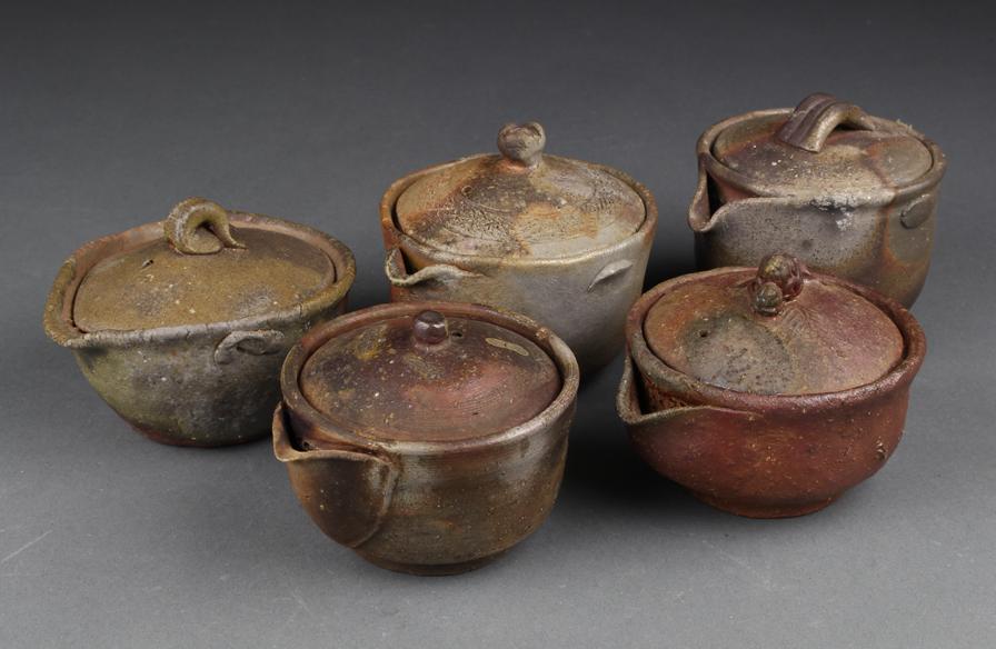 Lô ấm trà bizen houhin (bizenyaki ) – Shop Gốm Sứ Nhật Bản